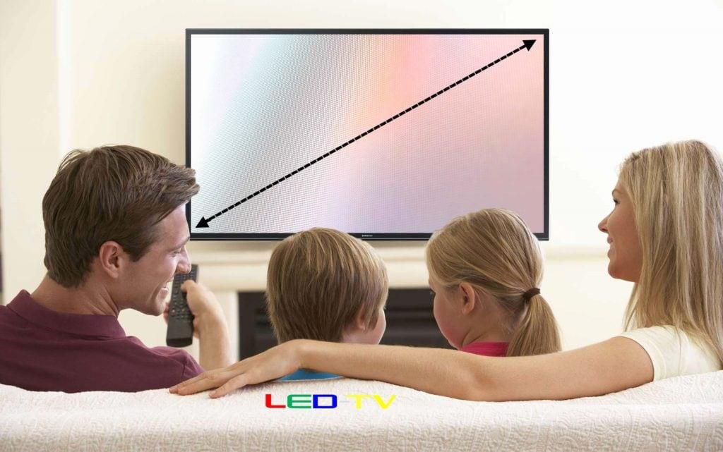 cel mai bun televizor - diagonala