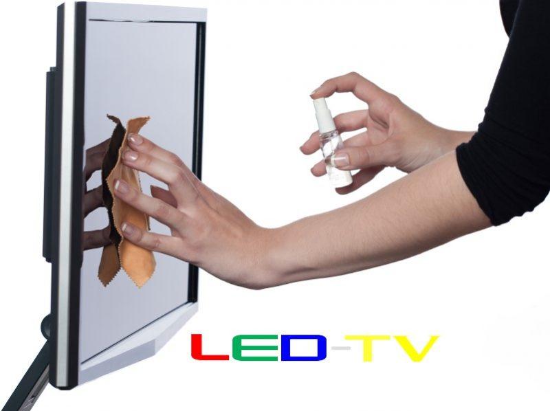 cea mai buna solutie curatat televizorul